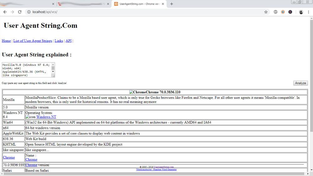 PHP Web Scraper Get